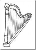 Risultati Immagini Per Disegno Arpa Strumento Musicale Classe Prima