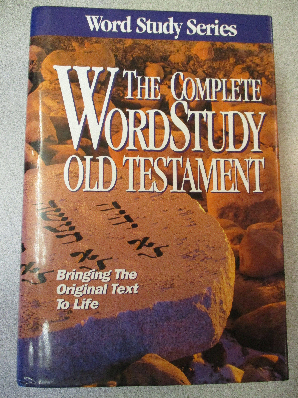 Zodhiates Complete Word Study Old Testament Amg Publishers Etsy Word Study Old Testament King James Version