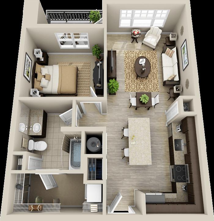 3d Floorplan Sims House Design Small House Design Plans Simple House Plans