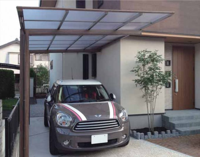 Carport Design Ideas modern white carport design ideas for minimalist modern house design Modern Carport Kits