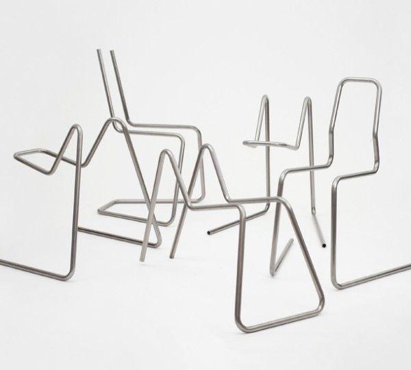 Tube-Chair, le design qui va faire un tube (déformation musicale)