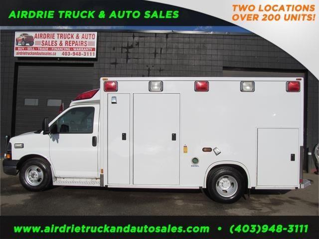 2008 Chevrolet Express G3500 Commercial Ambulance Used Cars Trucks Calgary Kijiji Cars Trucks Chevrolet Ambulance