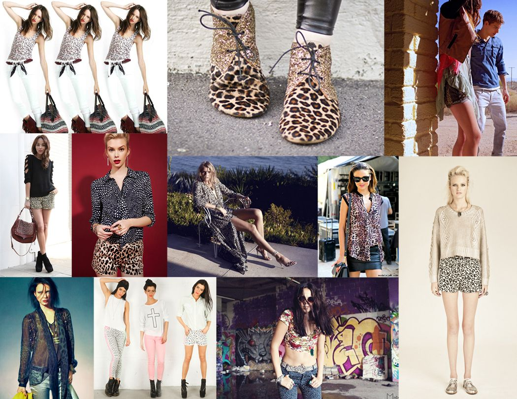 the cult of style: LEOPARD = THE NEW BLACK