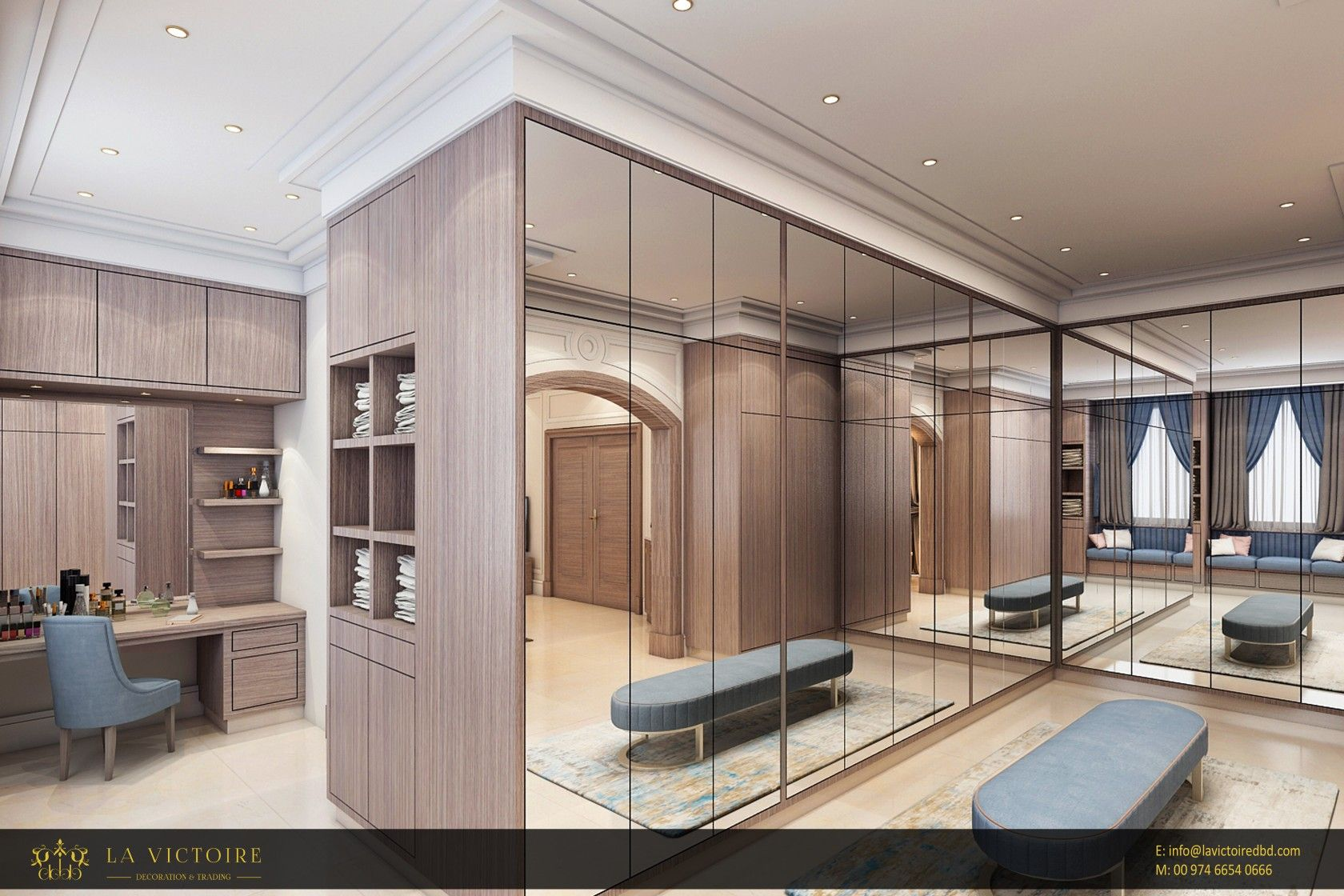 Modern Dressing Room Creative Interior Design Luxury Interior Modern Design