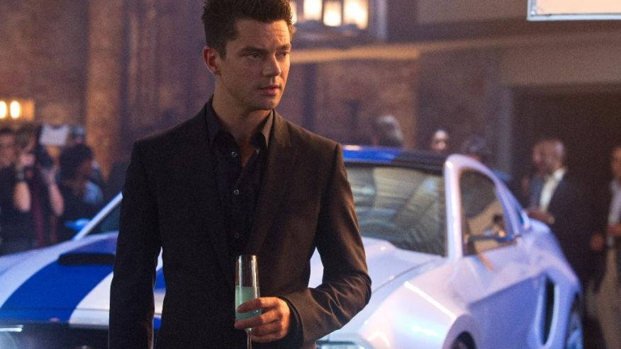 Dominic Cooper.... Need for speed