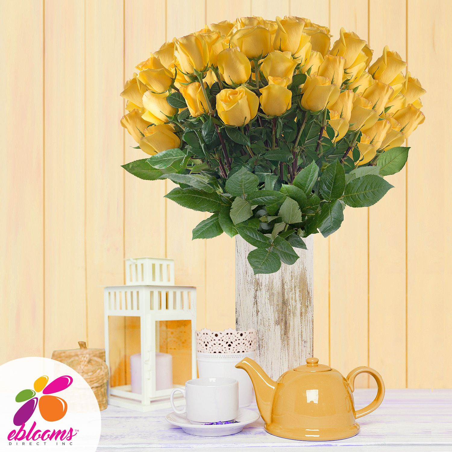 Wholesale Flowers For Weddings Events: 50 Stems- EbloomsDirect