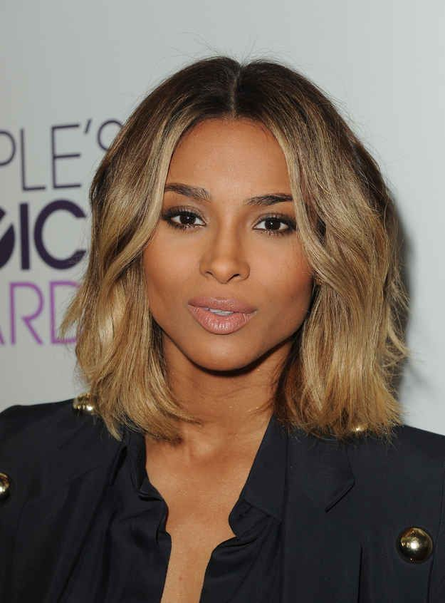 24 Celebrity Bobs That Will Make You Wish You Had Shorter Hair Ciara Short Hair Thick Hair Styles Medium Hair Styles