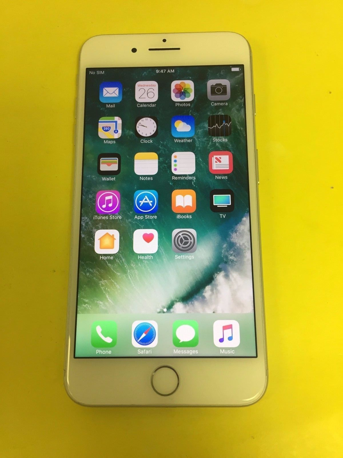 Apple iPhone 7 Plus 32GB Silver Straight Talk Great Condition eBay Link