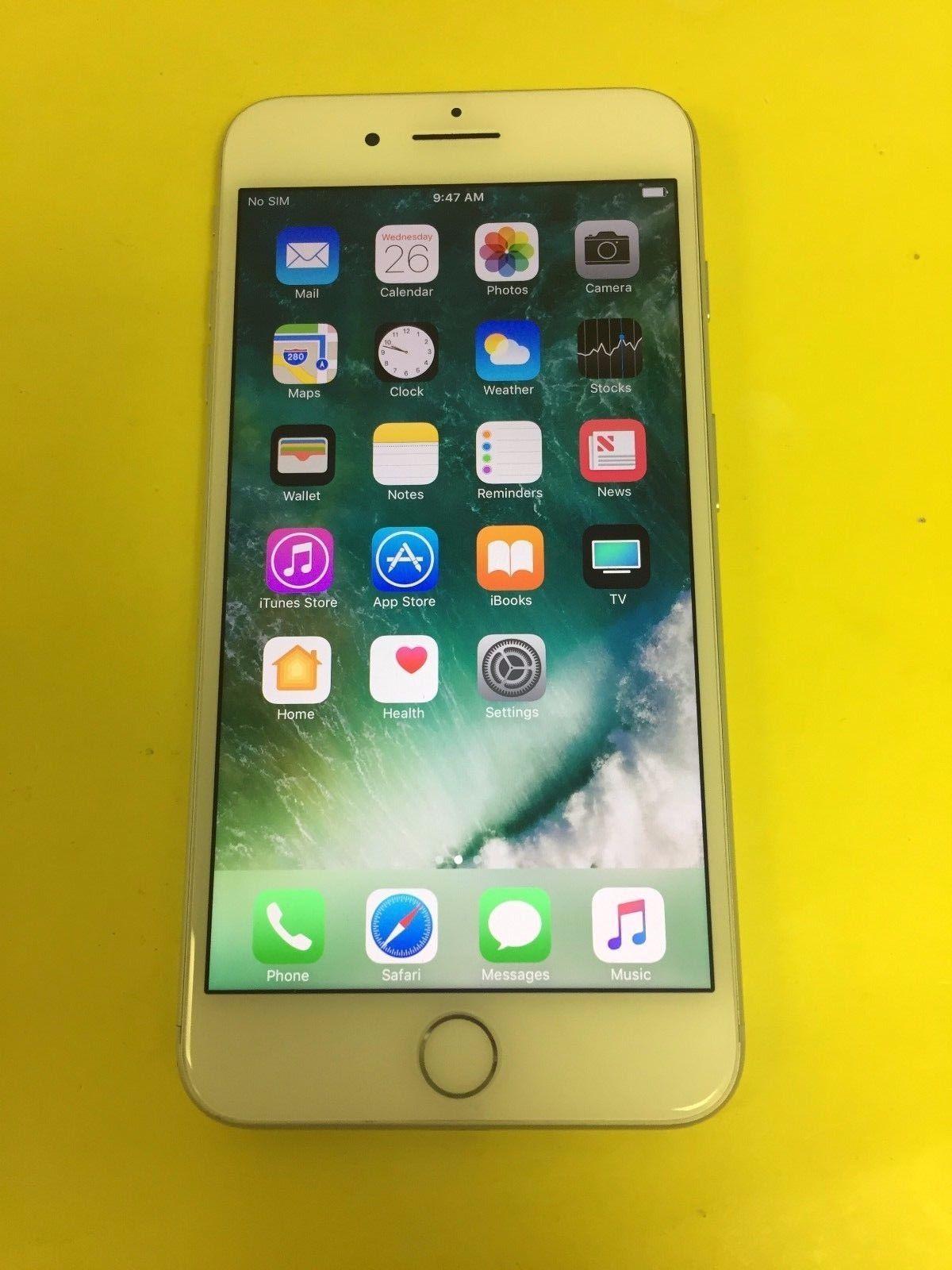 Apple iphone 7 plus 32gb silver straight talk