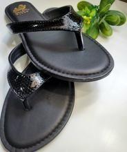 Strut Snake Skin Flip Flop Sandals