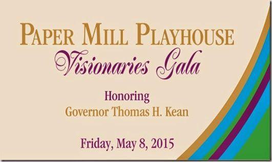 New Jersey Footlights: Paper Mill Playhouse 'Visionaries Gala' Honoring G...
