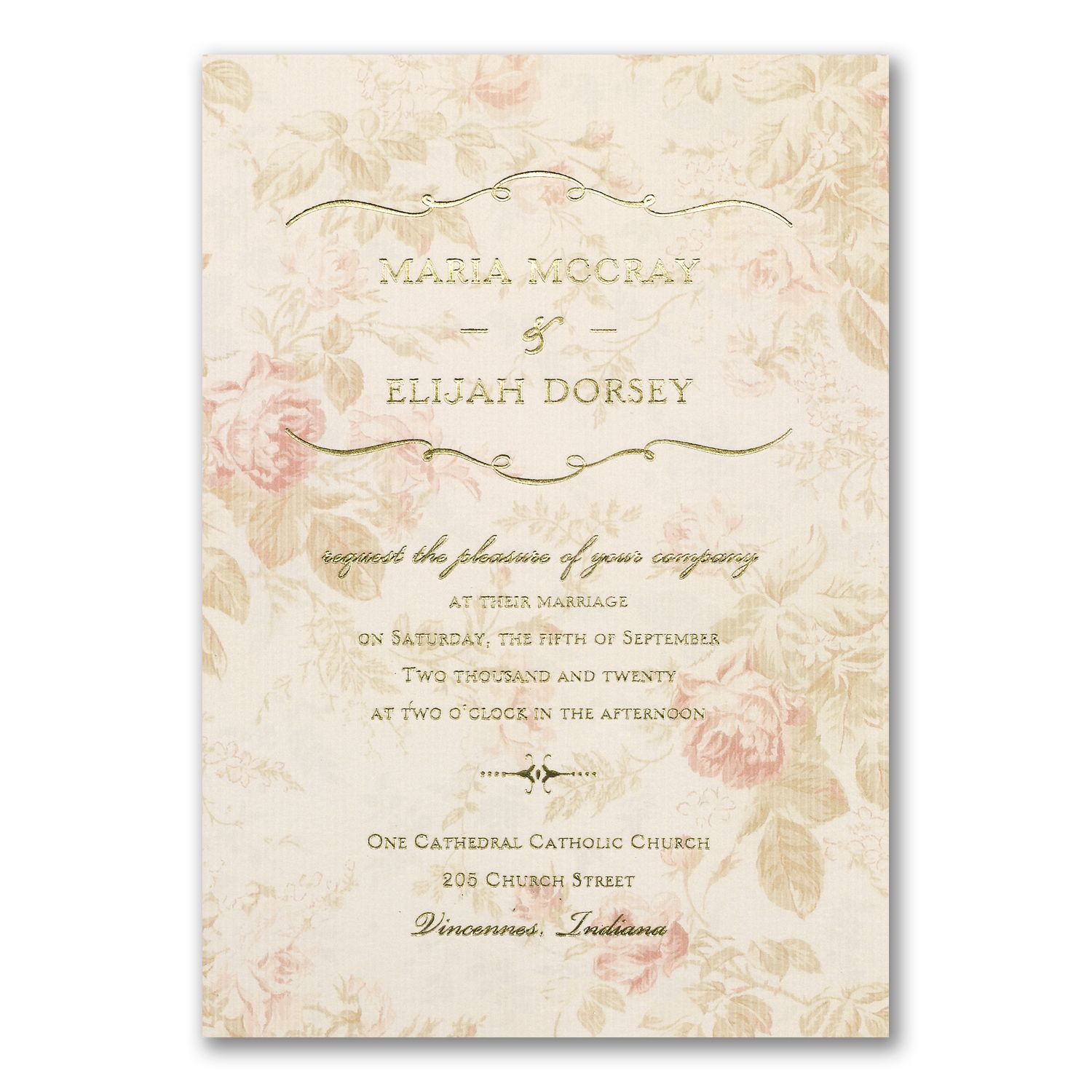 Wrapped Up In Vintage Invitation Affordable Wedding Invitations Beach Wedding Invitations Discount Wedding Invitations