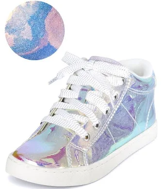 sparkle high tops sneakers girls
