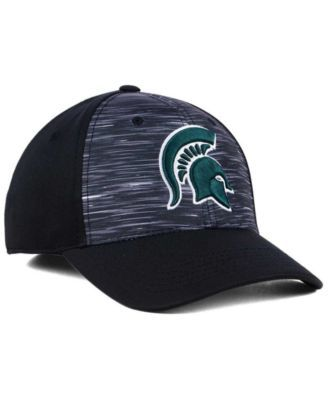 uk availability 9b0a5 8d0e6 Top of the World Michigan State Spartans Flash Stretch Cap - White Black S M