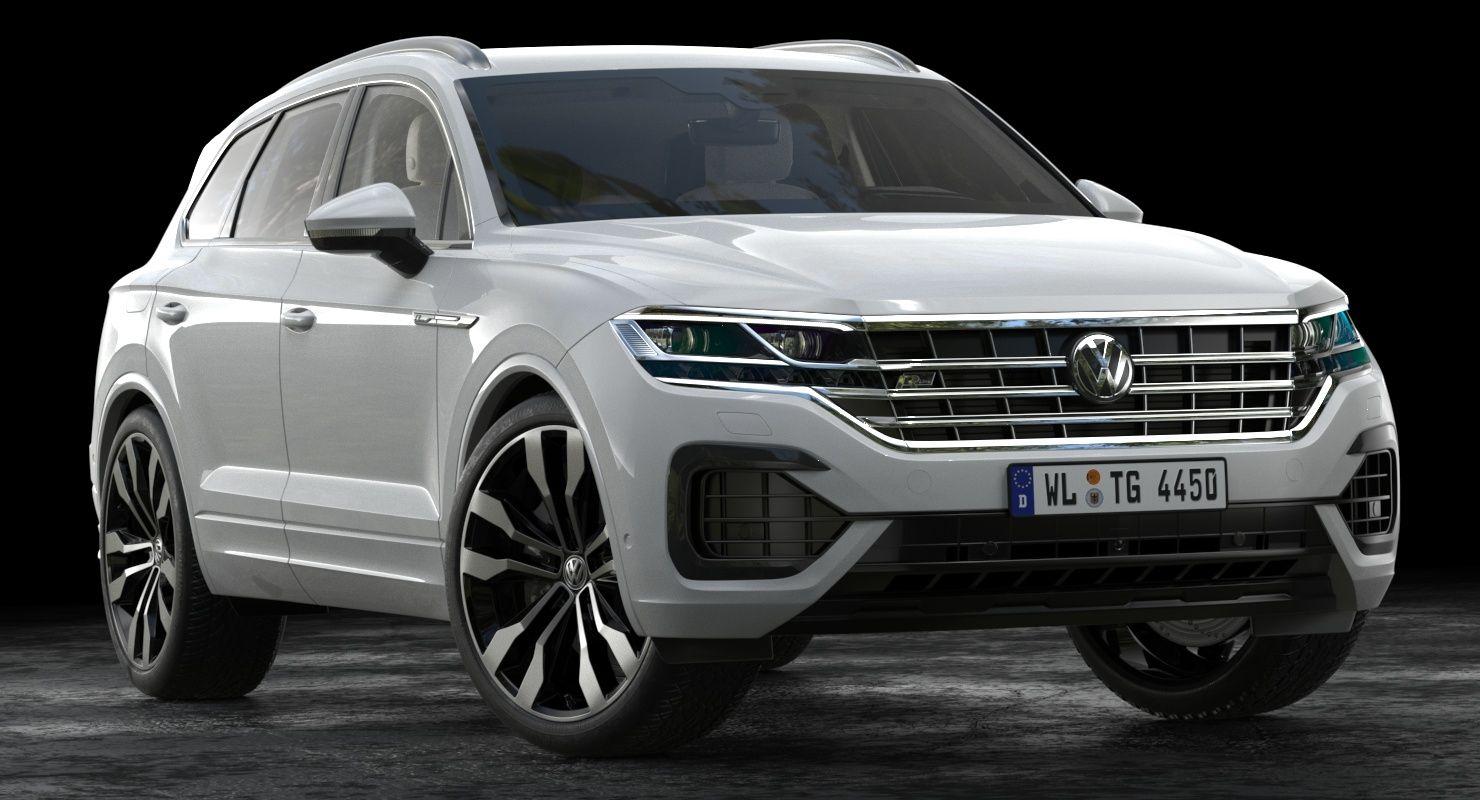 3d 2019 Volkswagen Touareg In 2020 Volkswagen Touareg Volkswagen Super Cars