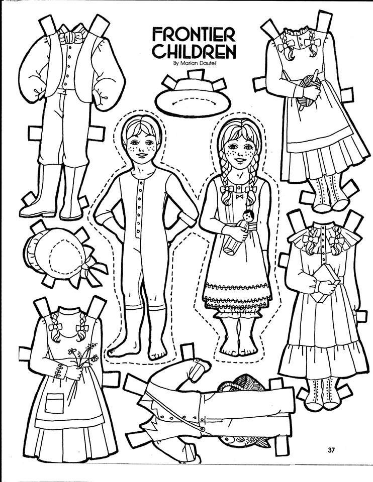 LDS Friend Magazine Paper Doll. From Older Friends