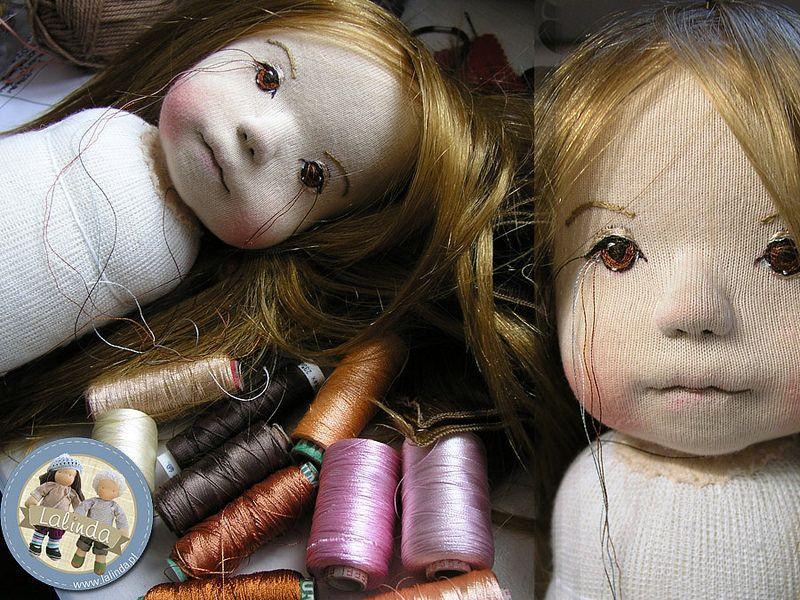 Lisa - OOAK soft sculpted doll by Lalinda.pl | por Lalinda.pl