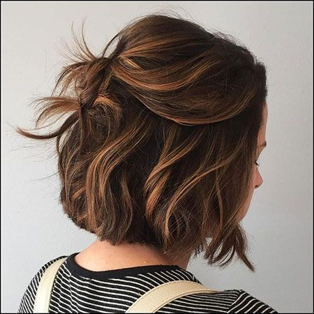 30 Brown Bob Hairstyles for Women -   16 brown hair Bob