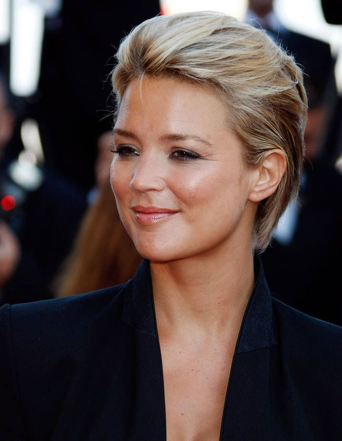 Coiffure Virginie Efira cheveux courts Balayage