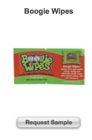 Free Boogie Wipes Sample Boogie Wipes Wipes Free Samples