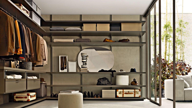 Gliss Walk-In Walk-in Closets Molteni & C  Wardrobe furniture