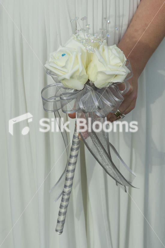 Ivory And Silver Bouquet Google Search