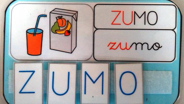 Materiales manipulativos Super Tarjetas con las reglas de ortografía destacada