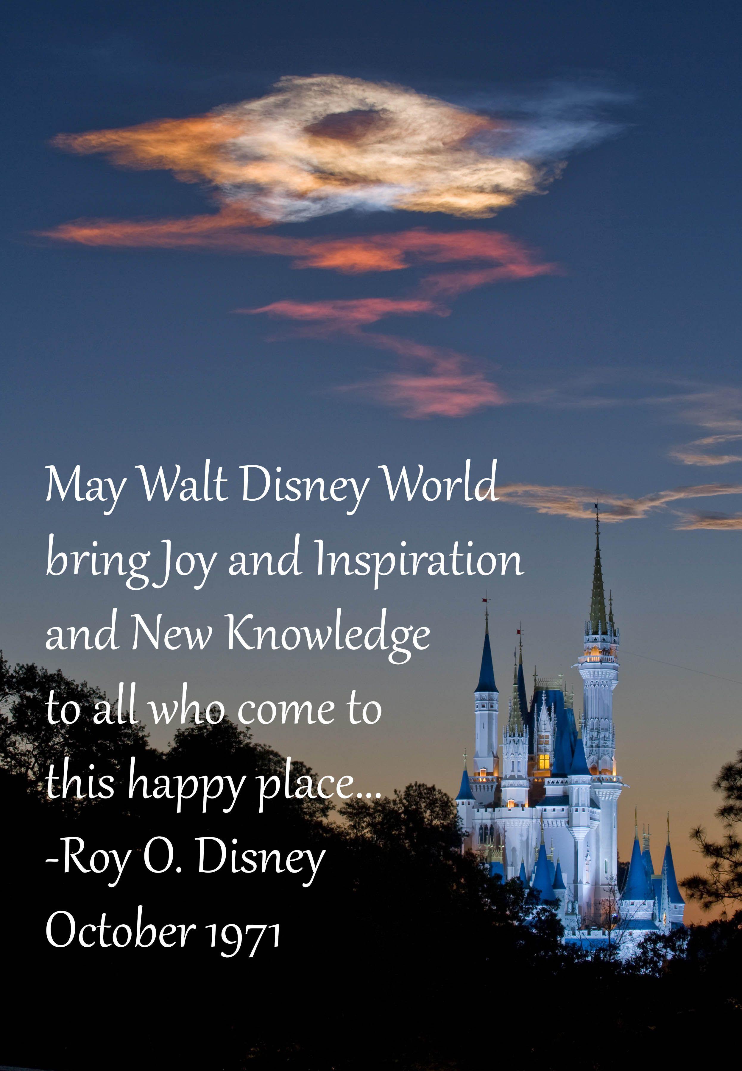 Happy birthday, Walt Disney World!