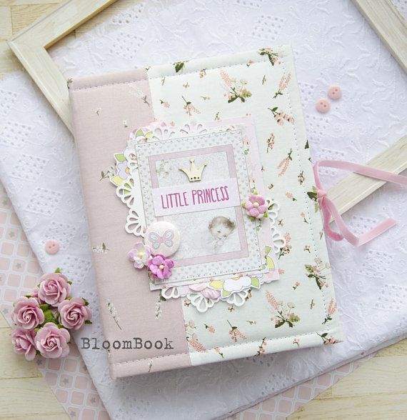 Baby Girl Photo Album, Personalized Baby's First Year