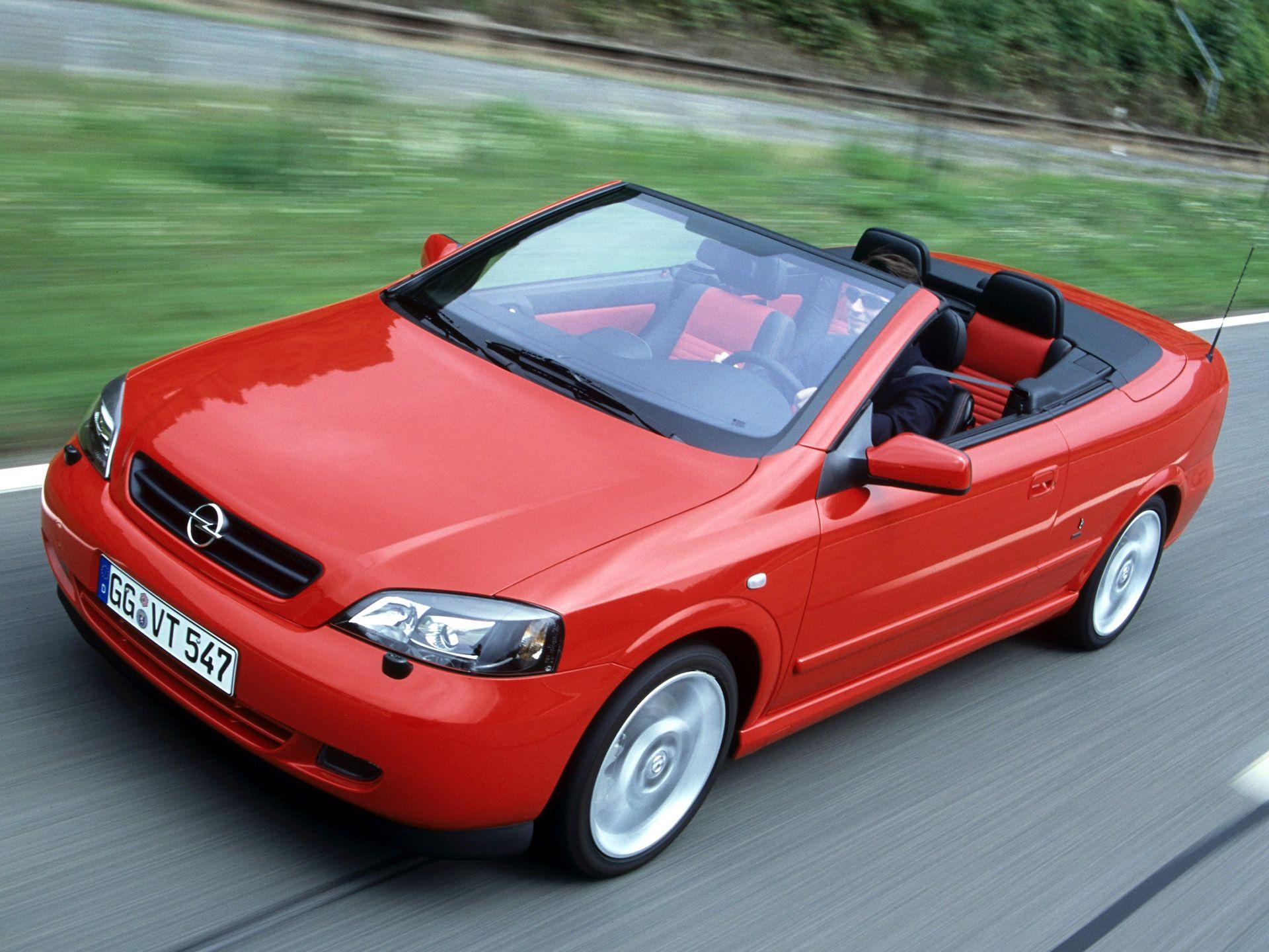 Opel Astra Cabrio Linea Rossa G 2003 04
