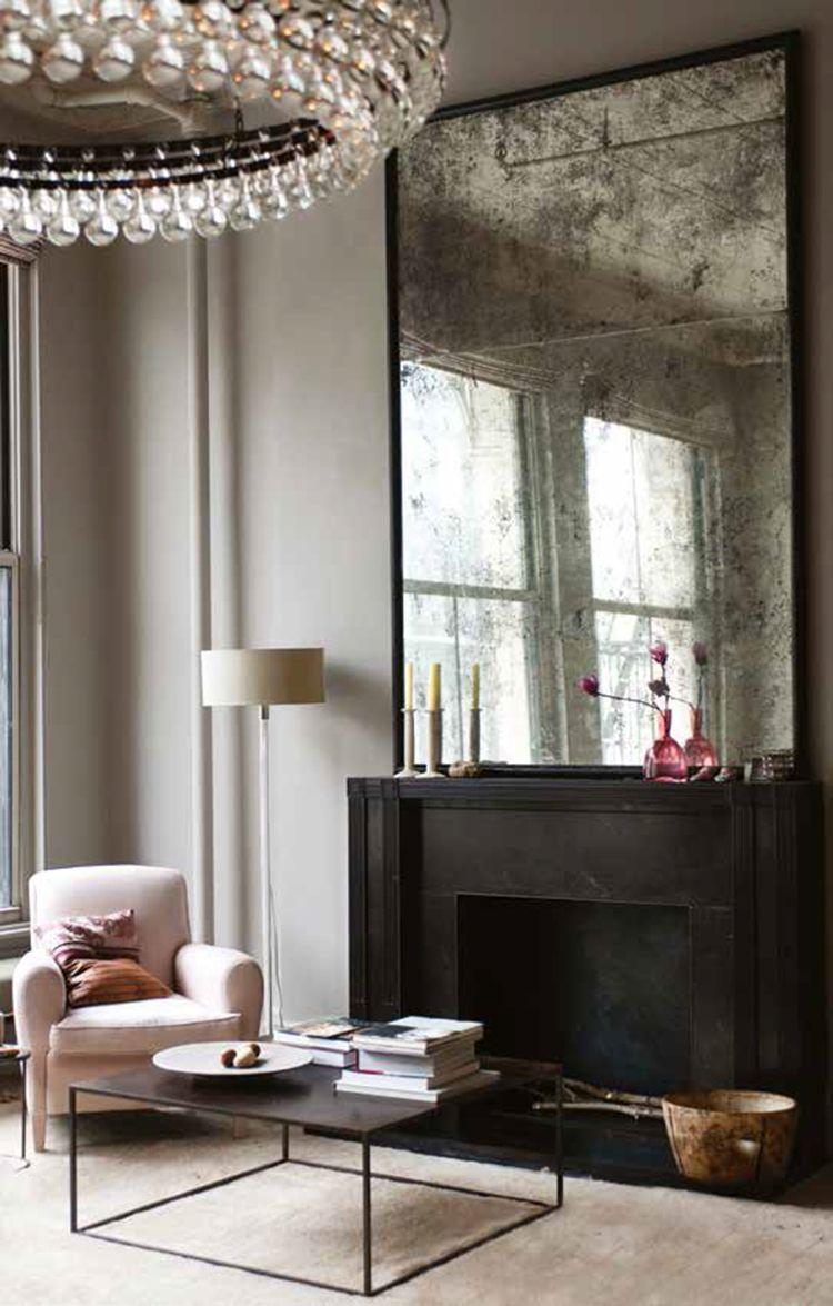 Grand miroir vintage à utiliser dans la décoration – 10 idées