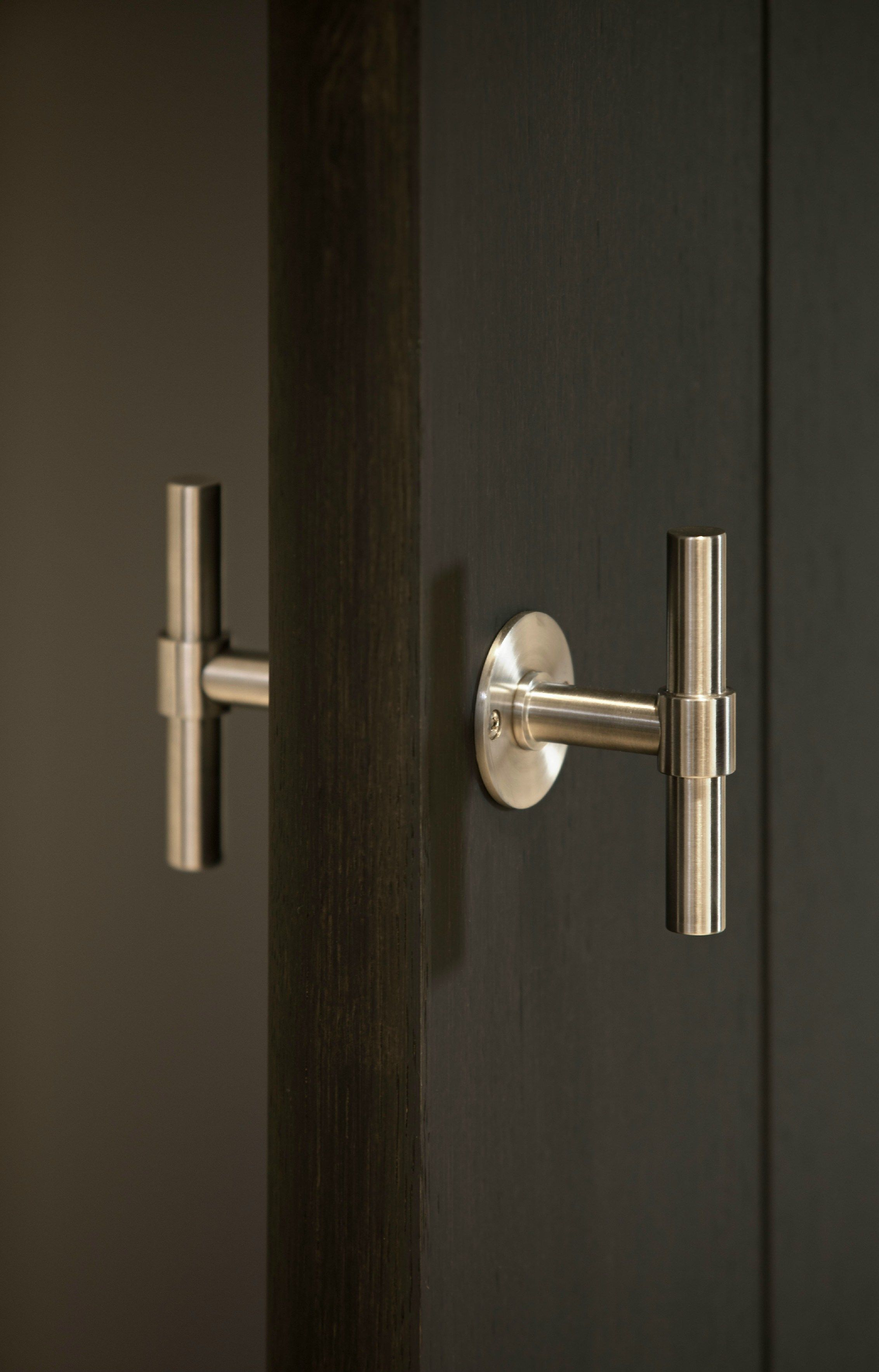 Stainless steel door knob ONE Series by FORMANI