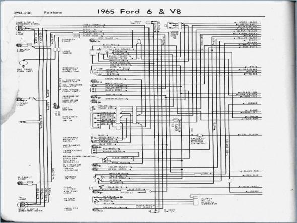 1962 Ford Galaxie Wiring Diagram Schematic
