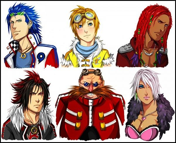 Sonic Anime Characters : Sega sonic characters in human form they re now