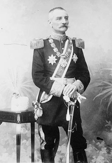 HM King Peter I of Serbia (1844-1921)