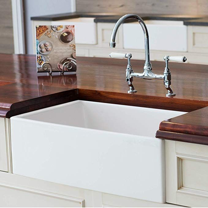 Mayfair Sw1 30 Inch Kitchen Farmhouse Sink Fireclay White