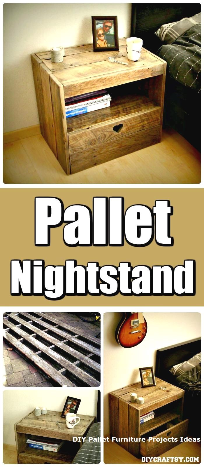 New DIY Pallet Projects and Ideas on a budget #diyprojects ...