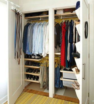 Bedroom Closet Design And Style Ideas - http://www.interiorredesignseminar.com/decoration-trends/bedroom-closet-design-and-style-ideas/