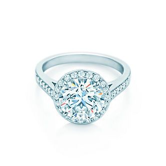 Best Emmy DE Tiffany u Co Novo Band Ring Wedding Eternity Diamonds Platinum