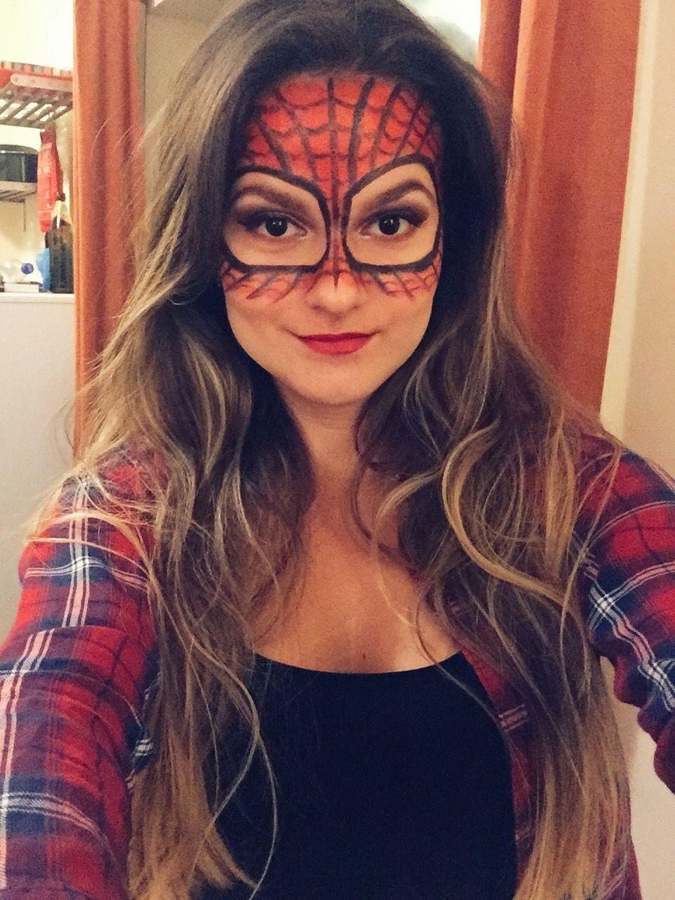 halloween #spiderman #makeup | Halloween | Pinterest | Spiderman ...