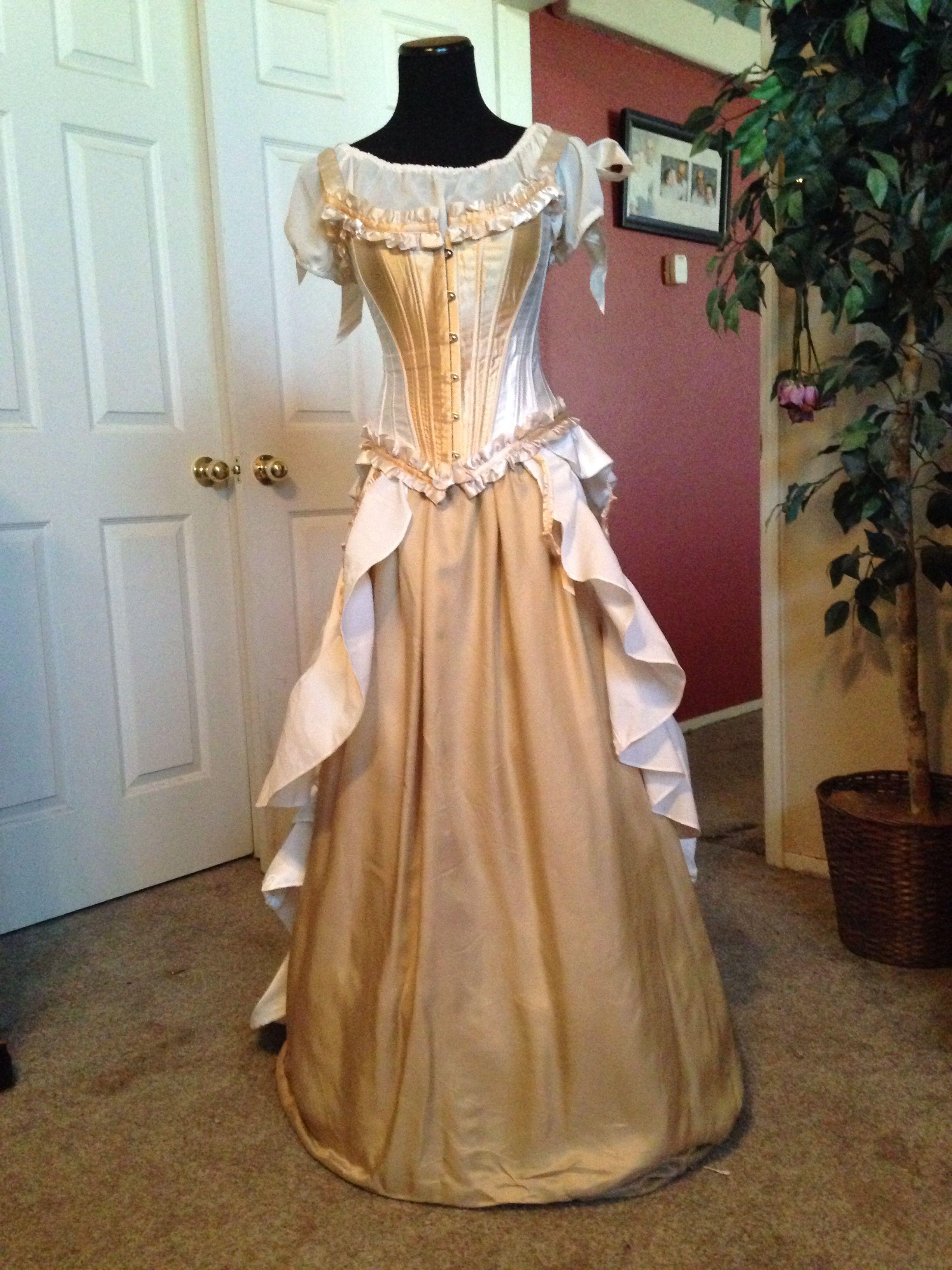 My Old West Wedding Dress