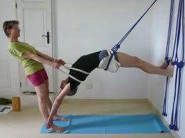 urdhva dhanurasana  iyengar yoga yoga asanas yoga rope