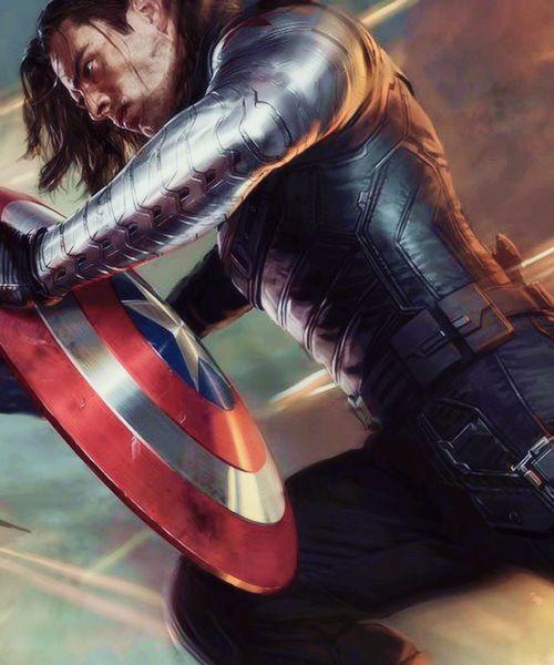 Bucky Barnes || Captain America TWS || 500px × 600px || #art | Index