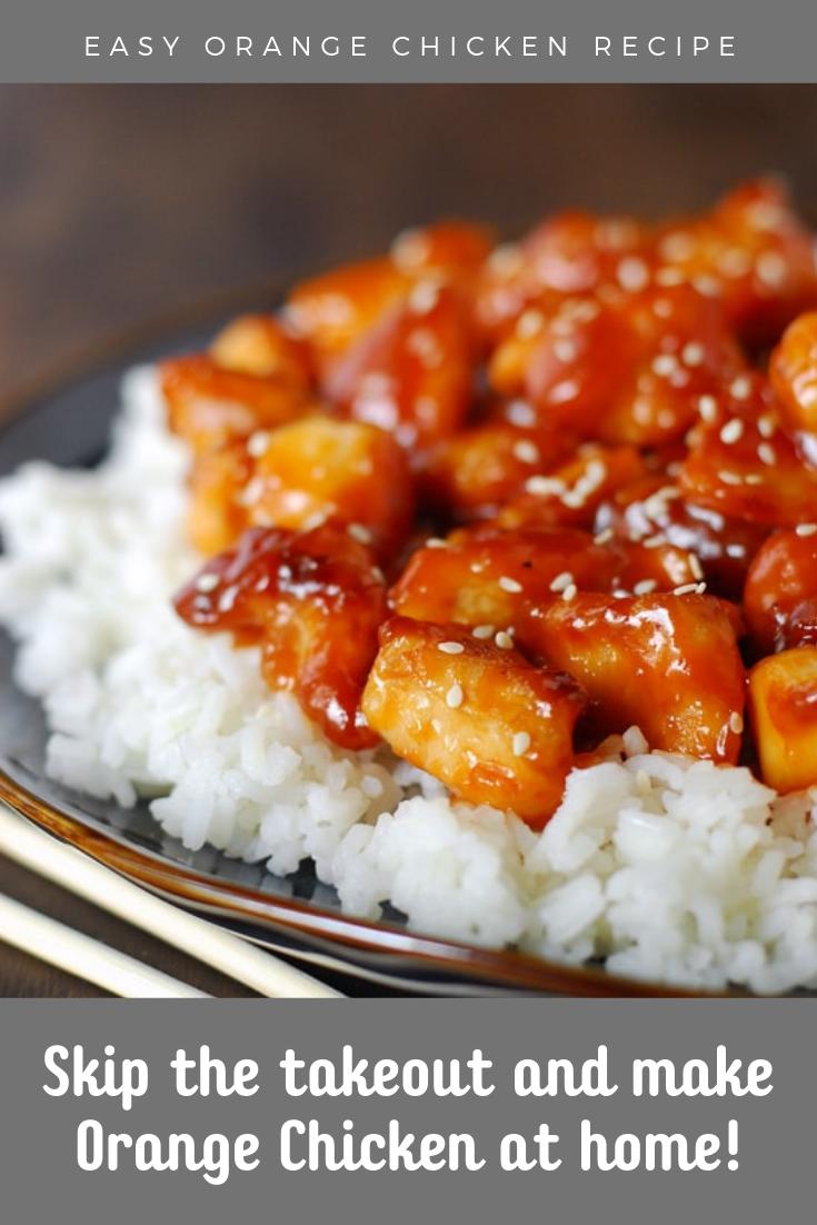 Orange Chicken Recipe images