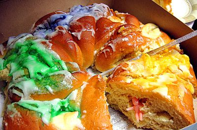I 3 King Cakes And Finding The Baby Mardi Gras 2 21 Mardi Gras King Cake King Cake King Cake Recipe Cream Cheese