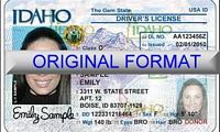 License Idaho … Buy Id Ids Drivers Ids … Cards Holograms Fake With Usa License Scannable