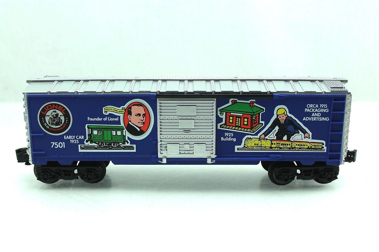 O Lionel 7501 75th Anniversary Founders Box Car 6 7501   eBay