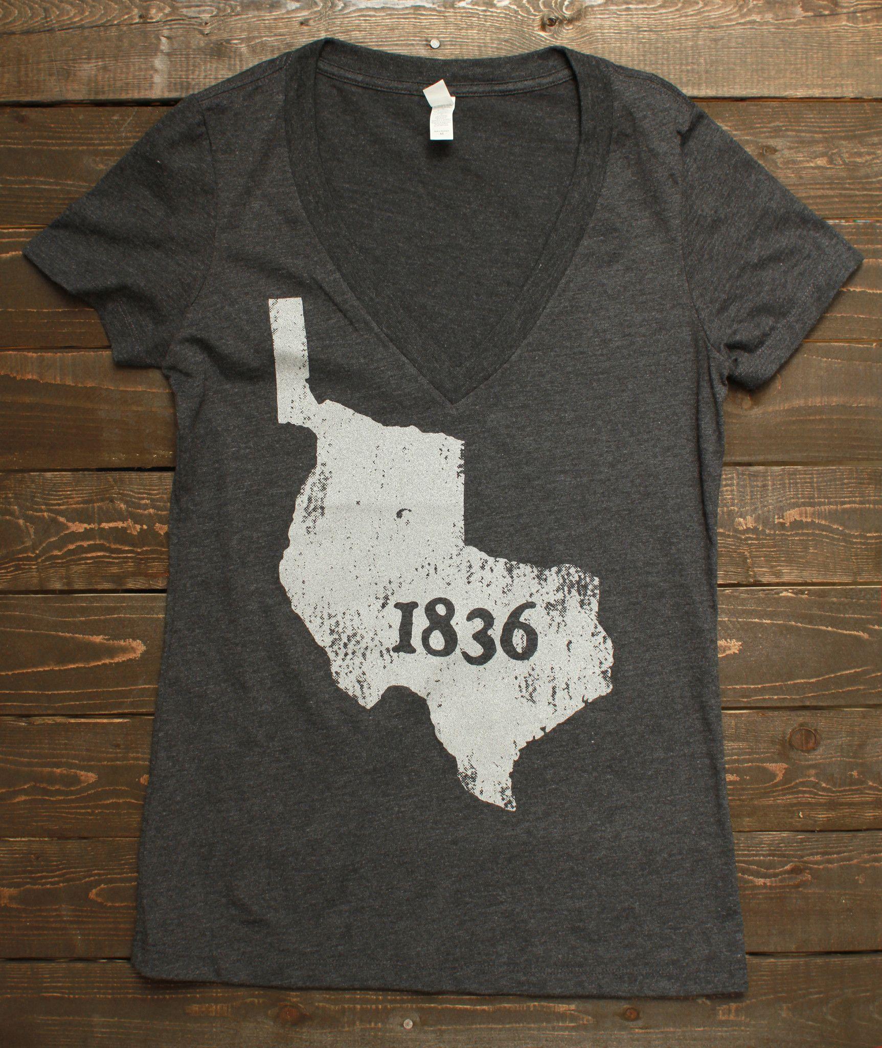 Republic of Texas - Women's Deep V (2 Color Options)