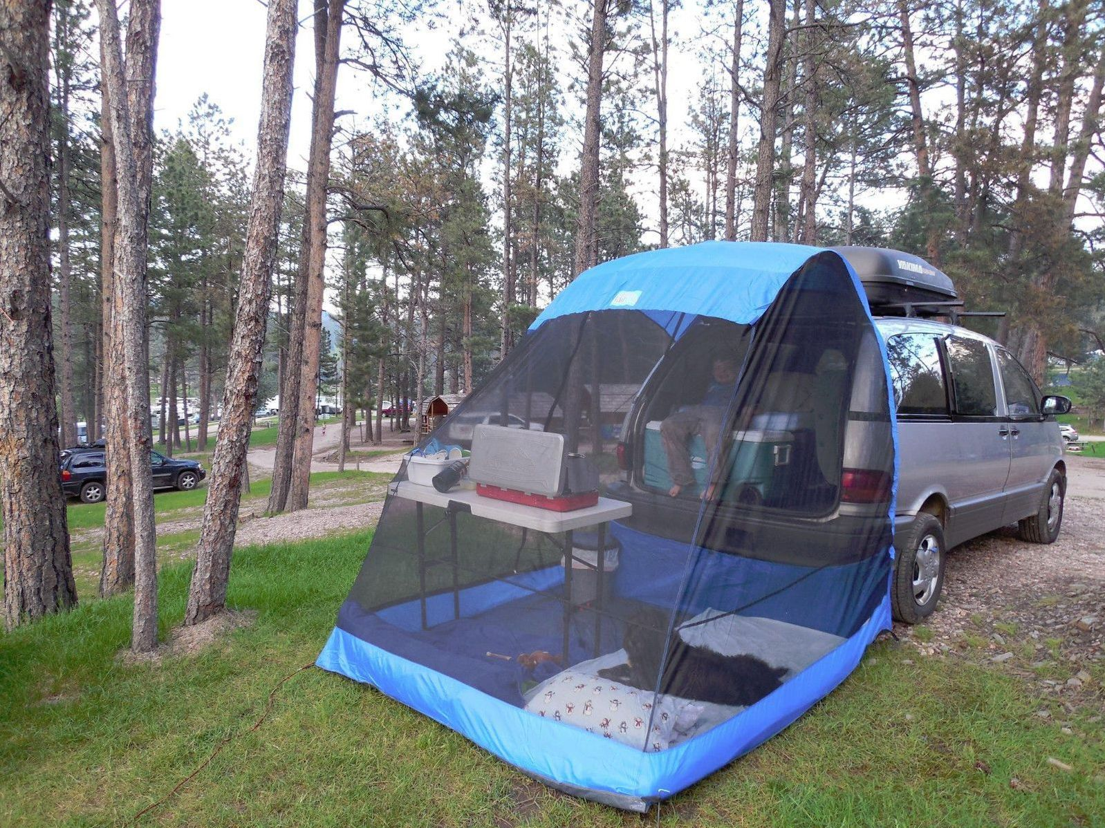 Pin by Motorian on RV Renovation Ideas Suv camping, Tent