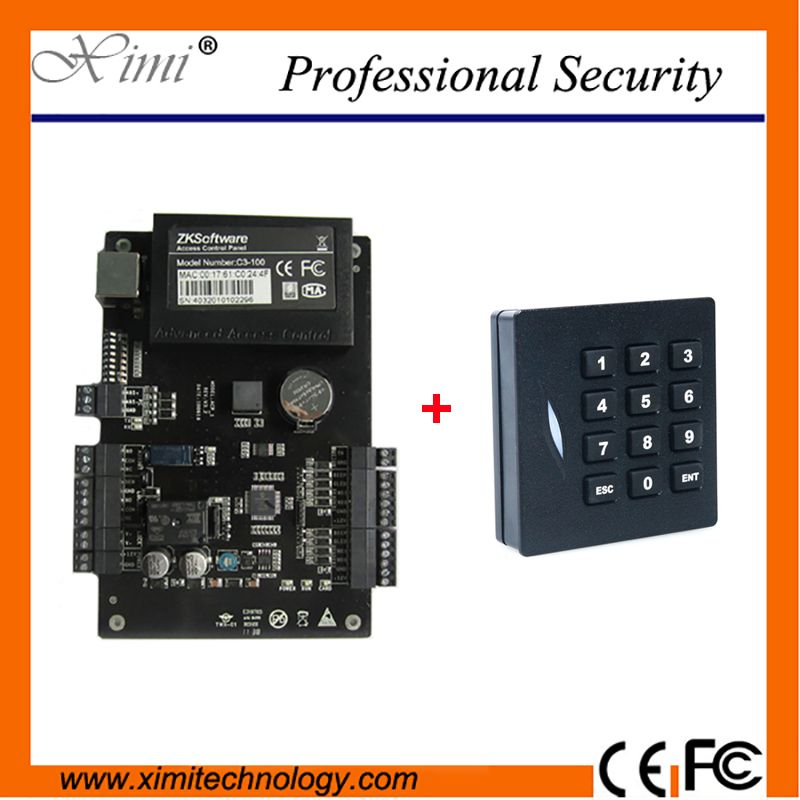 Zkteco C3 100 One Door Two Sides Access Control Panel Tcp Ip Rfid Card Door Access Control System Access Control Access Control System Control System